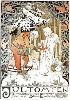 How Elsa Beskow created a timeless Swedish Christmas Elsa Beskow, Swedish Christmas Traditions, Scandinavian Christmas, Christmas Illustration, Children's Book Illustration, Vintage Christmas Cards, Christmas Art, Yule, Artists For Kids