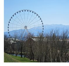 Sky wheel, Pigeon Forge. The Island will be opening June 21, come and see Pigeon Forge's newest attraction.#skywheel #Island #pigeonforge