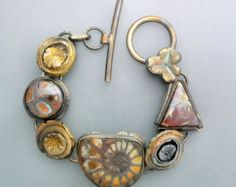 Fossil Ammonite and Opals - 270