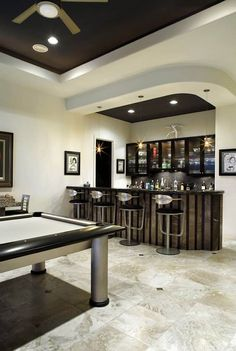 Create the Perfect Bar in Your Own Home Today - Man Cave Home Bar Home Bar Rooms, Home Bar Decor, Basement Bar Designs, Home Bar Designs, Basement Ideas, Küchen Design, House Design, Design Ideas, Home Wine Bar