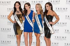Miss Maine USA 2013, Ali Clair; Miss Kansas USA 2013, Staci Klinginsmith; Miss Virginia USA 2013, Shannon McAnally; and Miss Wisconsin USA 2013, Chrissy Zamora | #MissUSA