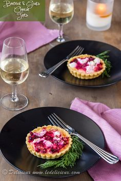 Why not grow your own Beetroot (Perfect in Autumn) and try this Beetroot and Goats Cheese Tarts recipe