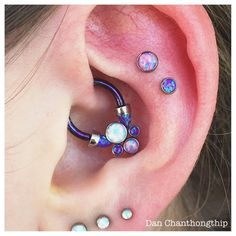 Everyone loved the daith piece earlier that I posted so much I figured I should…
