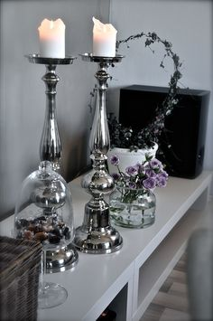 inspiration for my room. silver details. chic