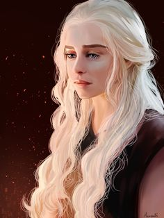Daenerys targaryen art, mother of dragons Daenerys Targaryen Art, Deanerys Targaryen, Game Of Throne Daenerys, Khaleesi, Thranduil, Game Of Trone, Got Game Of Thrones, My Sun And Stars, Fanarts Anime
