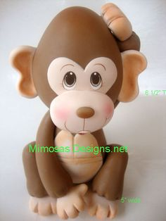 Monkey Cake Topper/Centerpiece