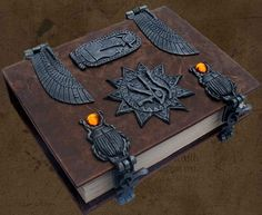I found 'Brahm's Bookworks, Egyptian, Grimoire, Book of Shadows' on Wish, check it out!
