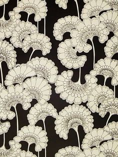 Florence Broadhurst - Japanese Floral wallpaper, AUD$280 (+AUD$22 for trimming) per roll (10 metres per roll). Yes, yes... my office will match my New Bond Street Florence Kate Spade bag now (just need neon orange accents!)