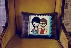 Couple-pillow