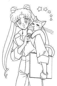Pin by Jessica Albaneso on Kids stuff | Sailor moon coloring pages ...