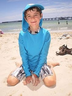 Boys sun protection beachwear