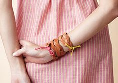 10 DIY Bracelets To Make This Weekend | EcoSalon | Conscious Culture and Fashion