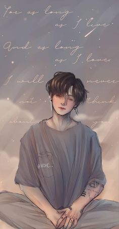 """JEON JUNGKOOK I love you so much ; Jungkook Fanart, Fanart Bts, Foto Bts, Foto Jungkook, Jungkook Cute, Jimin, Bts Aesthetic Pictures, Kpop Drawings, Album Bts"