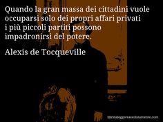 Cartolina con aforisma di Alexis de Tocqueville (4)