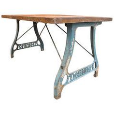 Deming Cast Iron Table