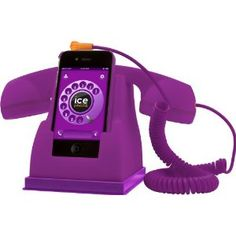 Ice-Phone Handystation Retro IPF.PE von Ice-Watch Purple: Amazon.de: Alle Produkte