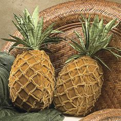 Set of 2 Pineapple Pillows - Best Selling Gifts, Clothing, Accessories, Jewelry and Home Décor