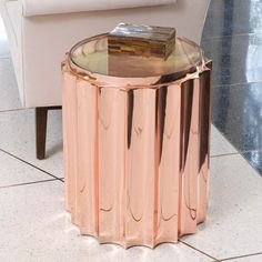 Fluted Column Table