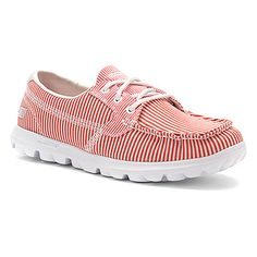 ONLINESHOES.COM - Skechers On-The-Go-Sail Red/White - $55.99 Skechers On The Go, Sailing, Red And White, To Go, Sneakers, Shoes, Women, Fashion, Candle