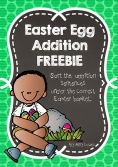 Mrs. Lowes' Kindergarten Korner: No Prep Easter Math and Literacy Printables GIVEAWAY (with a twist) plus a FREEBIE!