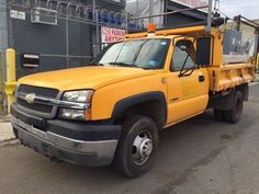 2004 Chevrolet Silverado 3500 Mason Dump Truck 4x4 #MoreThanTrucks #DumpTruck #Chevrolet