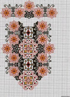 Gallery.ru / Фото #96 - схемы для вышиванок - zhivushaya