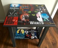 Check out this awesome Broadway Table makeover via michelle james #MerryMonday #furniture