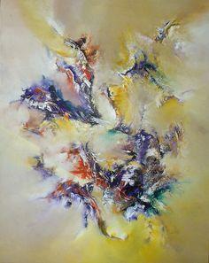 """""""La verdadera certeza"""" - Gabriela Winicki - Acrílico sobre tela - 100 cm x 80 cm - www.esencialismo.com"""