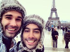 Josh and Omar in Paris for their first anniversary. | 23 Photos Of Same-Sex Couples That Will Warm Your Heart