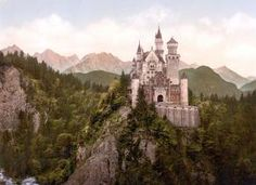Neuschwanstein Castle - Public domain
