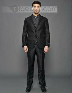 Super Fit Multistripe Suit 2 Button (Two Piece Set) : Tidebuy.com