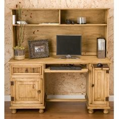 Rustic desk - I think I need this