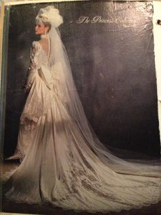 This was my wedding dress of choice 27 years ago. It was my dream dress! Vintage Wedding Photos, Vintage Bridal, Vintage Weddings, Unique Weddings, 1980s Wedding, Wedding Fun, Wedding Ideas, Bridal Dresses, Wedding Gowns