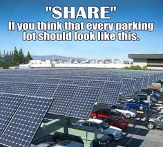 """""""SHARE"""" if you think that every parking lot should look like this. Save Our Earth, Save The Planet, Cool Diy, Faith In Humanity Restored, My New Room, Climate Change, In This World, Fun Facts, Haha"""