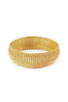 Classic Mesh Bracelet in Gold #tiffany tiffany rings setting