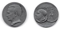 "Rendić-Miočević, Duje (1916-1993), Croatian numismatist, professor at the university of Zagreb (see I. Mirnik, ""Medals with a portrait of Duje Rendić-Miočević (*Split 19.VI.1916 - +Zagreb 30.IV.1993)"" on academia.edu)"