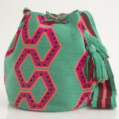 Serpent in Paradise Tapestry Bag, Tapestry Crochet, Knit Crochet, Crochet Handbags, Crochet Purses, Crochet Bags, Mochila Crochet, Tribal Bags, Art Bag