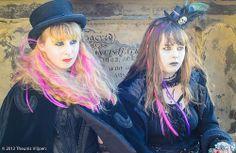 Victorian Goth Girls