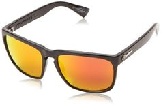 Electric Visual Knoxville XL ES11201658 Rectangular SunglassesGloss Black56 mm *** Click image for more details.