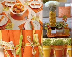 Orange decoration