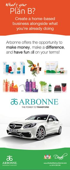 This design is to motivate prospects to consider the Arbonne advantage.