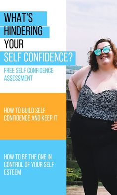 Look at the girl in the pin? Can you think of any reasons she might have confidence issues? But she doesn't look like she does, does she? It's because she knows that confidence start's within. You can have that same power. Click to empower yourself. #affiliate