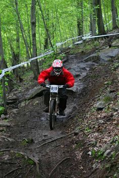 The Best Canadian Adventures: Mountain-bike Quebec. #Canada #MTB - Gotta pin this one for Wayne