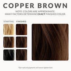 Copper Brown Henna Beard Dye – Henna Color Lab® – Henna Hair Dye