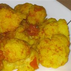 Healthy Side Dishes: Easy Curried Cauliflower