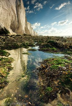 Seven Sisters, South Downs National Park, East Sussex, England.