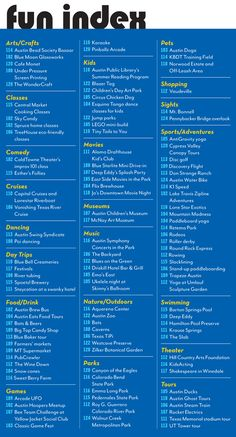 112 Fun Things to do in the Summer - Austin Monthly - May 2012 - Austin, TX