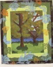 Submitted by Carolyn Brown on Princeton Incredible Art Department.  This personal exploration of trees is complex.  Observing landscapes, sketching trees, bark, leaves out doors.  Painting, matting, block making, printing.  Poetry.  A high caliber lesson!