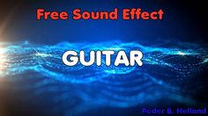 Guitar String (E) | Royalty-Free Sound Effect The sound of a lone guitar string can be quite soothing and is an interesting way to break up scenes. I might consider using an array of single guitar notes to create an interesting ranges of sounds.