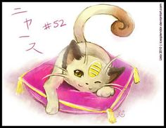 Pokemon #52- Meowth  I like this meowth much better than the meowth in the show. :3